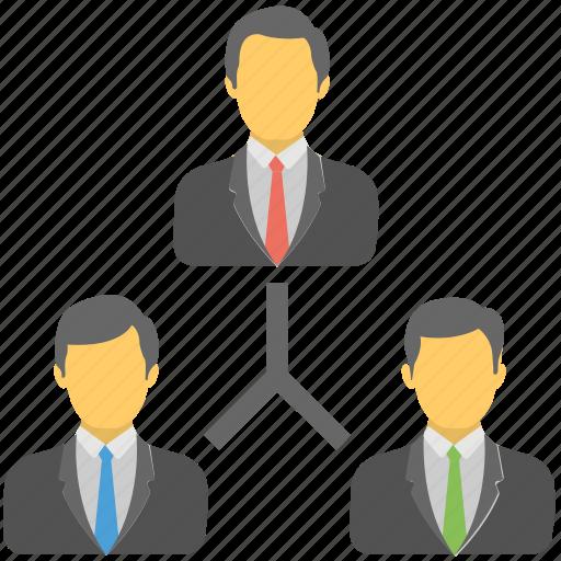 Businessman, organization, teamwork, leader, team icon