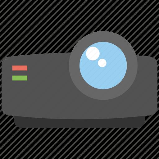 Multimedia projector, business presentation, video presentation, lcd video projector, projector icon