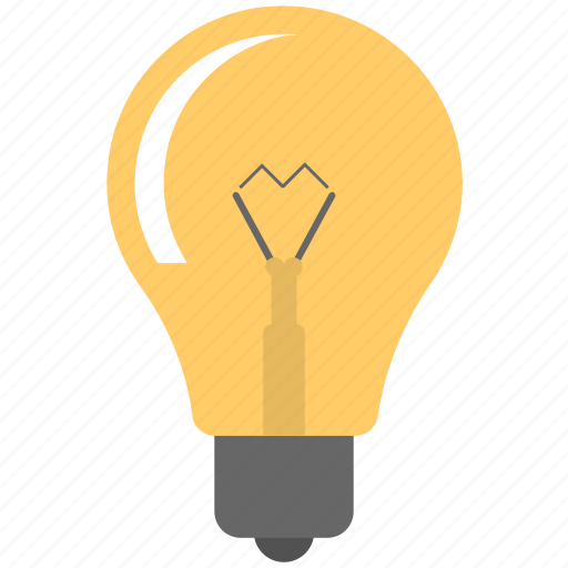 bright idea, creativity, inspiration, light bulb, luminaire icon