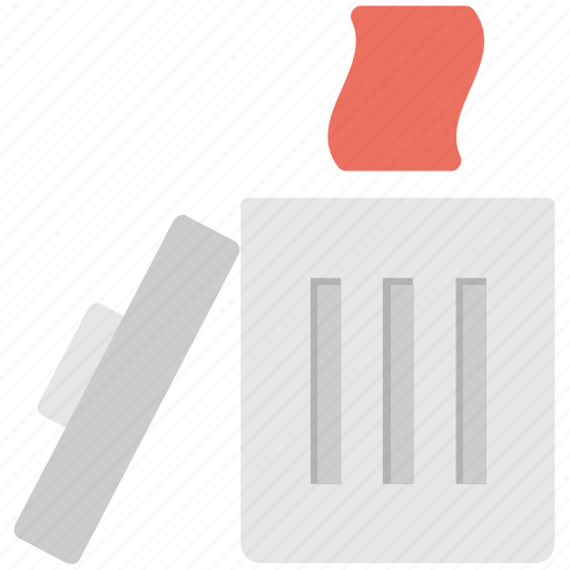 computer recycle bin, deletion, paper recycling, recycle bin, waste paper icon