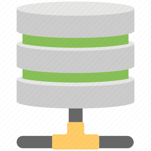 data center, data storage, data warehouse, database, server icon