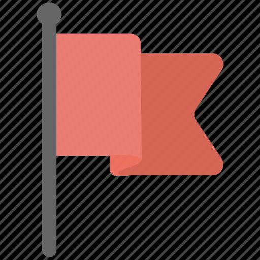 Destination flag, ensign, flag, fluttering flag, map flag icon - Download on Iconfinder