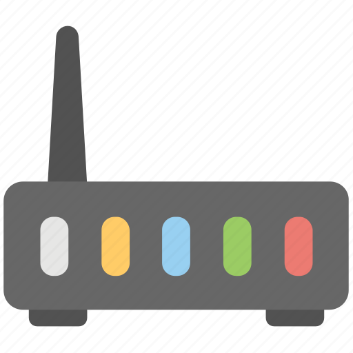 Lan network, internet router, internet modem, internet connection, internet booster icon