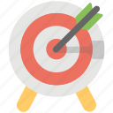 aim, dartboard, goal, shooting, target icon