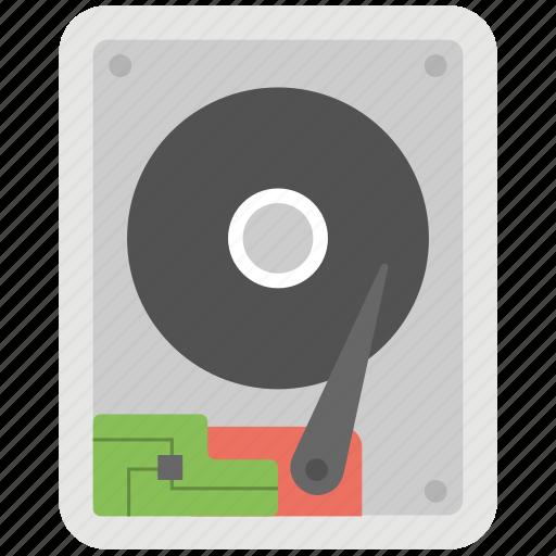 computer hardware, hard disk, hard drive, hdd, storage icon