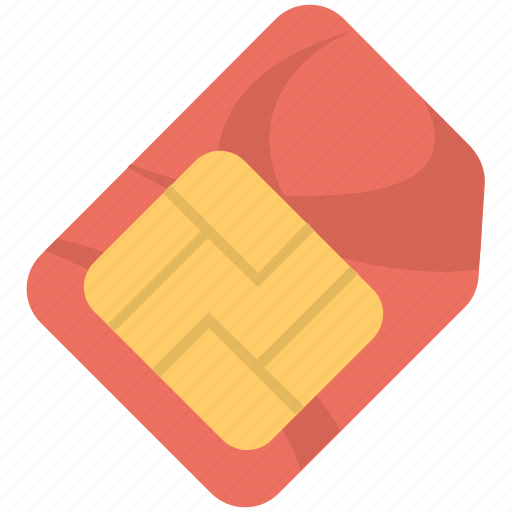 Integrated chip, phone sim, chip, sim card, sim icon - Download