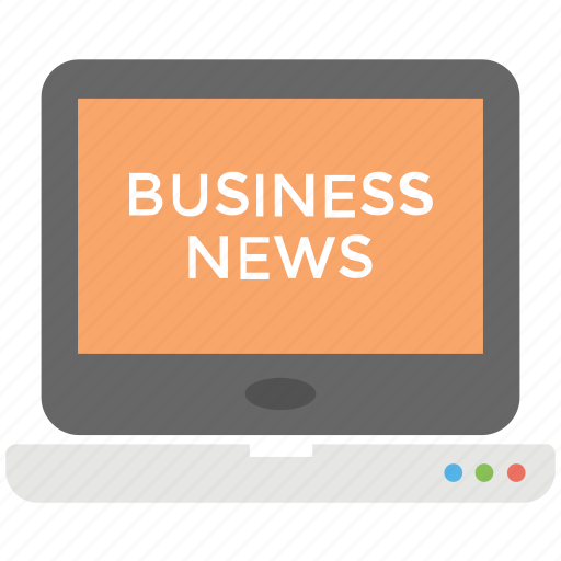 business news, business news broadcast, business news channel, business news website, online business news icon