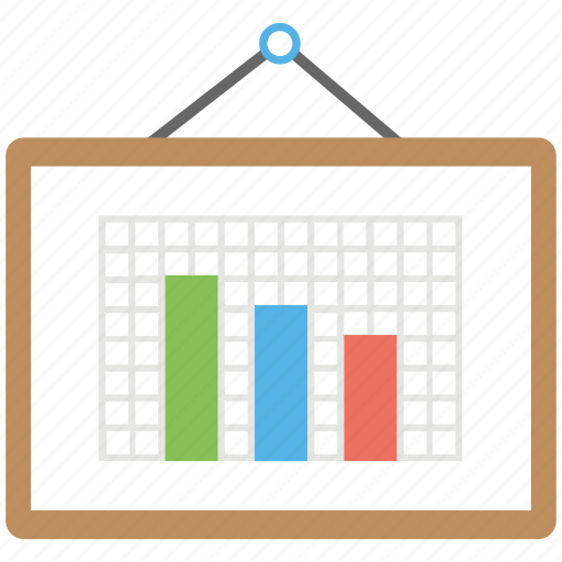 business analysis, business graph, business presentation, graphic presentation, statistics icon