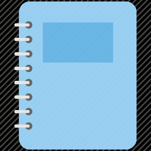 diary, notebook, notepad, stationery, steno pad icon