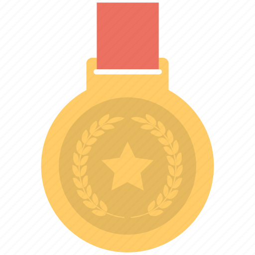 Reward, medal, honor, award, prize icon