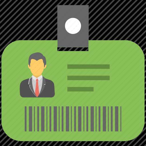 business id, id badge, id card, identity card, job card icon
