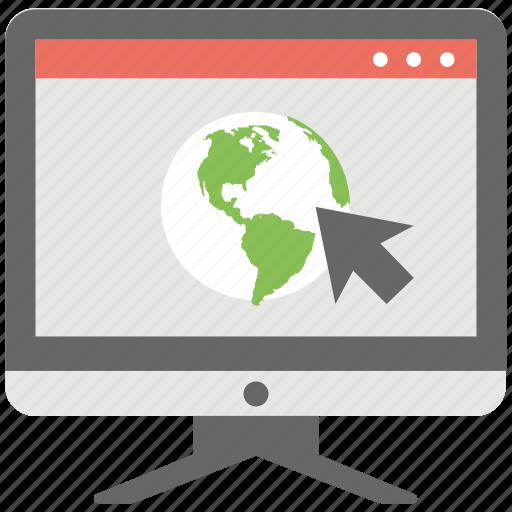 Website, cyberspace, www, site, internet site icon