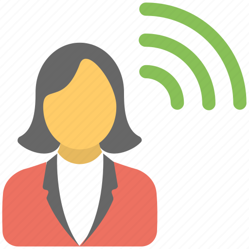 guest wifi, hotspot user, network user, user wifi strength, wifi user icon