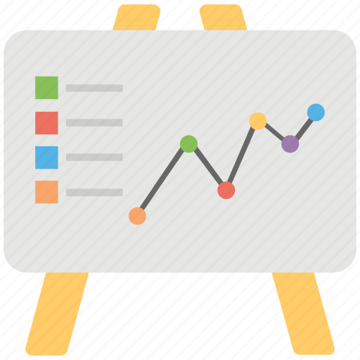 commerce, economic, finance, graphic presentation, success profit icon