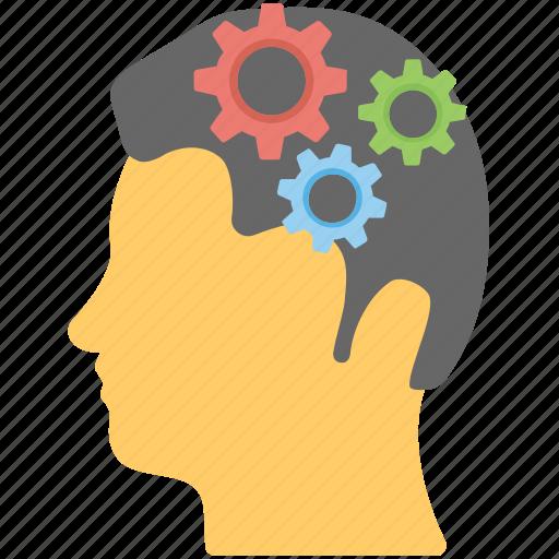 brain gear, creative brain, headgear, invention, productive idea icon