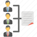 sales team, powerpoint hierarchy, presentation process, team introduction, shared document