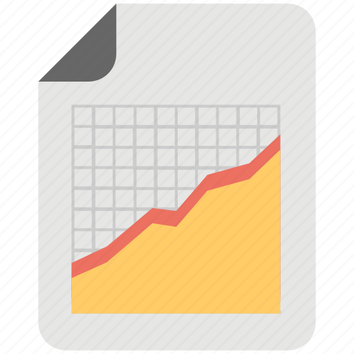 financial planning, financial report, graph report, sales report, statistics icon