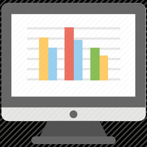 Cyber statistics, web statistics, traffic statistics, site ranking, website analysis icon