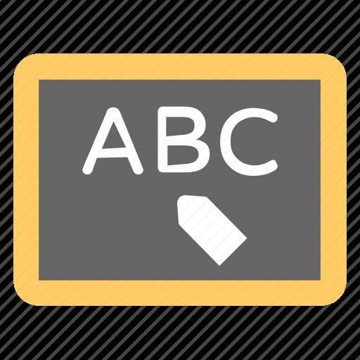 education, kindergarten, nursery school, school, whiteboard icon