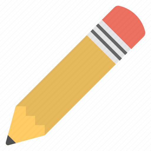 office supplies, pencil, school supplies, stationery, write icon