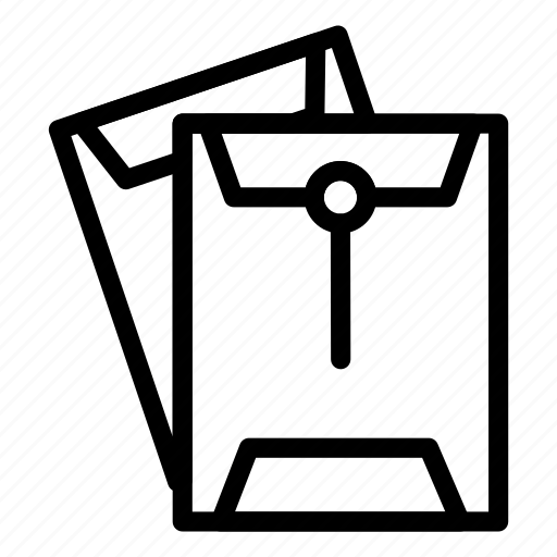 Letter, work, document, office, room, folder, business icon