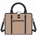 bag, briefcase, office bag, portfolio, shopping icon