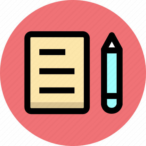 business, memory, notes, office icon
