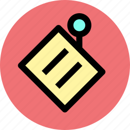 business, notes, office icon