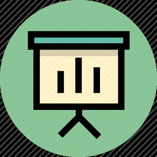 business, office, statistics icon