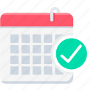 date, calendar, day, plan, month, event, schedule icon