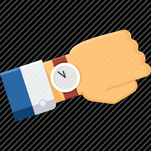 Time, watch, wrist watch, business, clock, schedule, wait icon - Download on Iconfinder