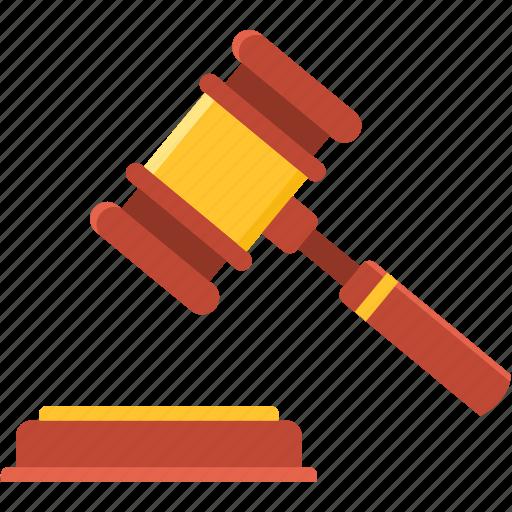 accept, action, auction, decision, goal, hammer, success icon