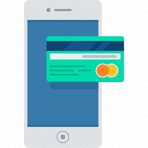 banking, card, mobile, money, pay, payment icon