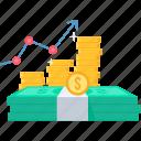 profit, revenue, up, sales, increase, net, business