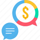 business, dollar, message, money, office, revenue, salary icon