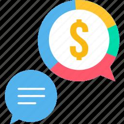 business, dollar, message, money, office, revenue, salary icon