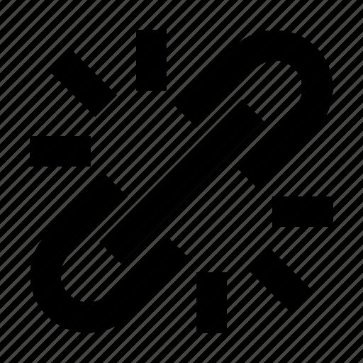 Address, chain, hyperlink, link, site, unlink, url icon - Download on Iconfinder