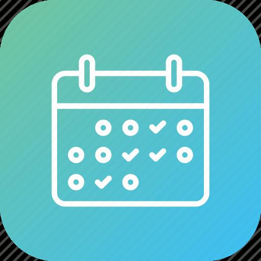 calendar, date, management, metting, schedule icon