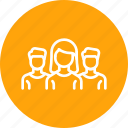 avatar, office, people, profession, team icon