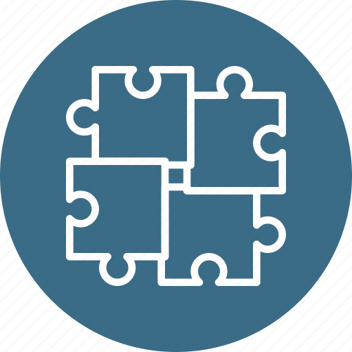 business, goal, puzzle, question, strategy, thinking icon