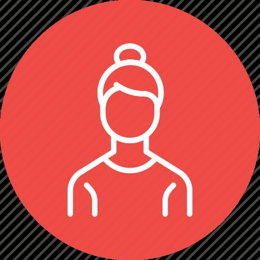 avatar, employee, office, staff, woman, worker icon