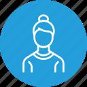 avatar, employee, lady, office, staff, woman, worker