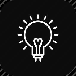 creative, idea, lamp, light icon