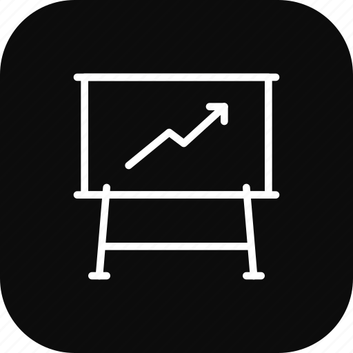 analysiss, chart, graph, growth, report, success icon