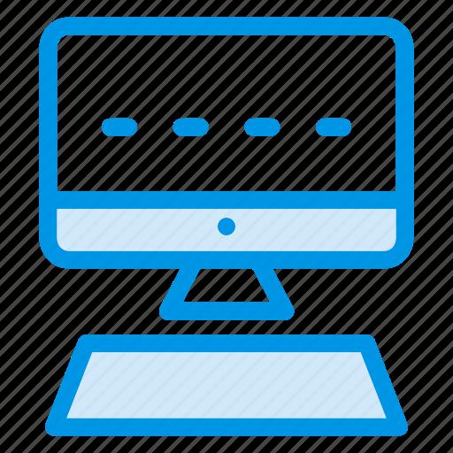 computer, mac, monitor, tvscreen icon