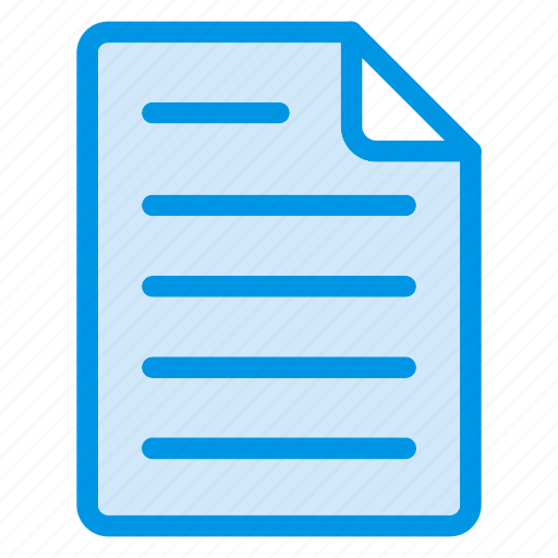 article, edit, file, format icon