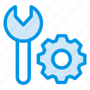 engineering, gear, process, setting icon