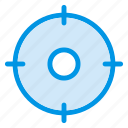 circle, military, position, target icon