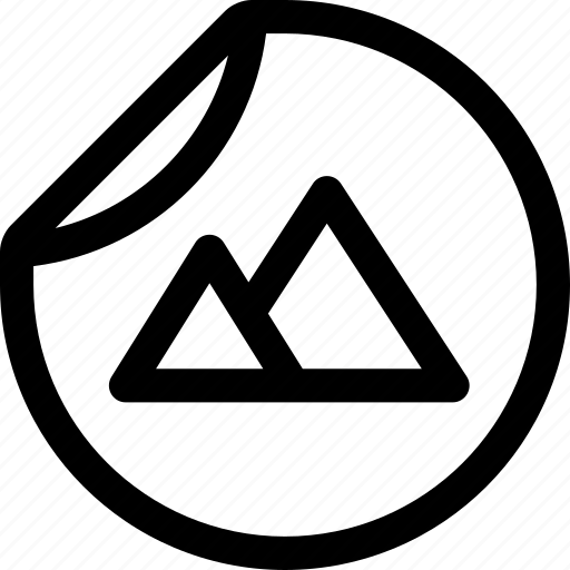 brand, design, identity, merchandise, print, sticker icon