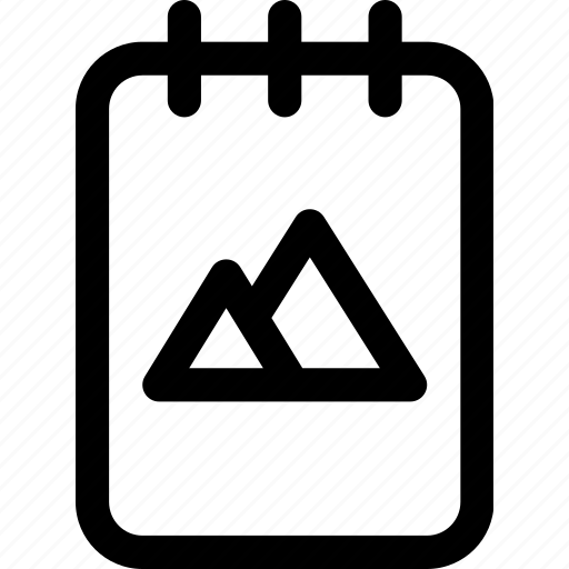 brand, business, design, document, identity, notes icon